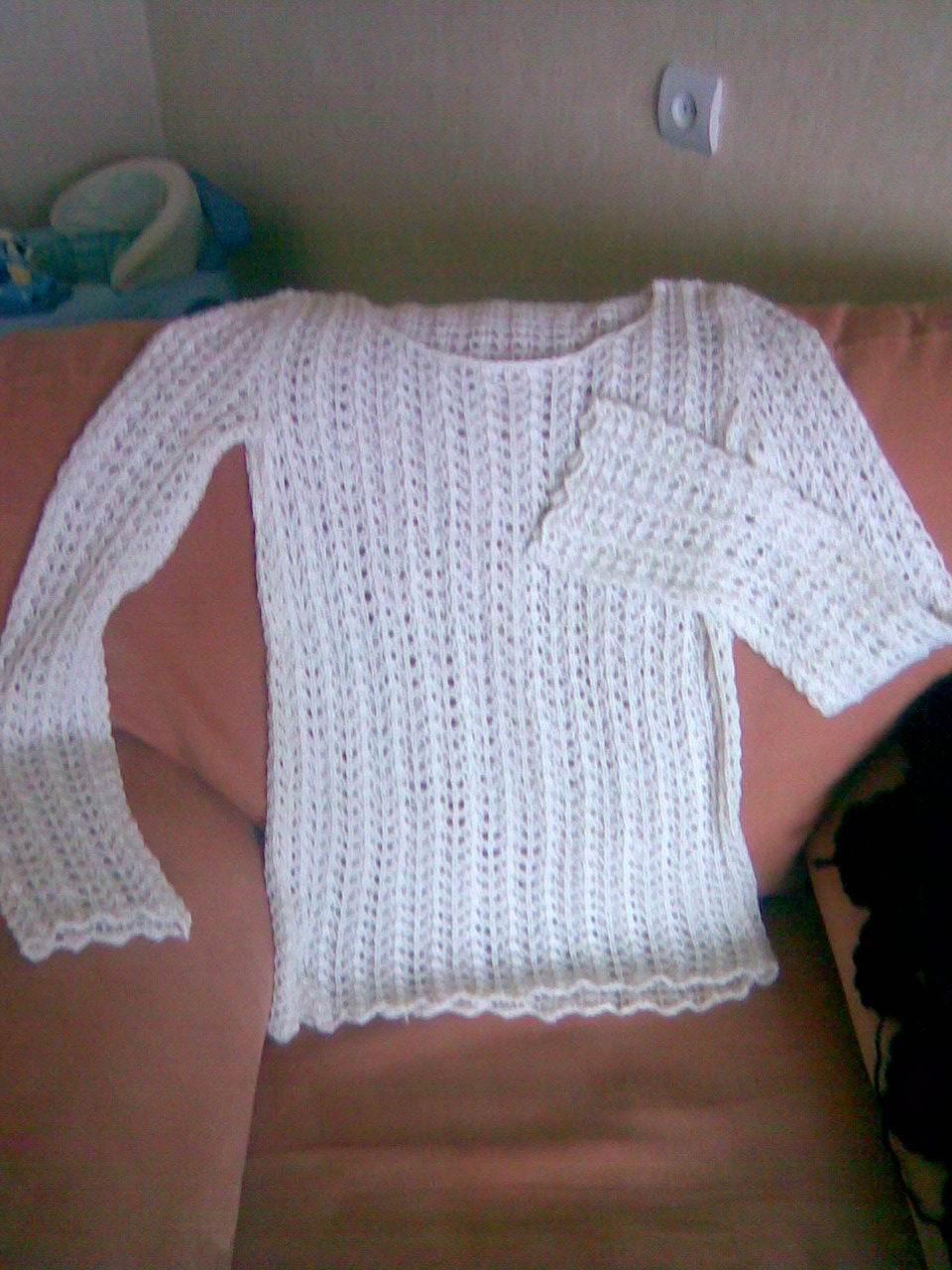 Пуловер из Ребекки. Новое