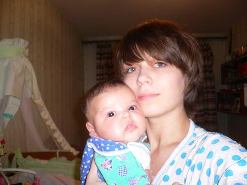 Красивые девчонки!. Я и моя малышка
