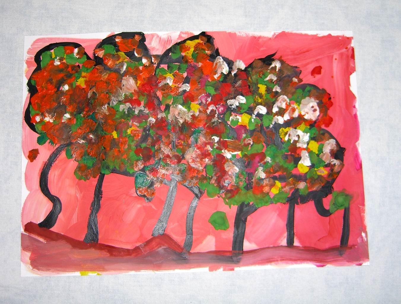 3г8м_деревья осенью. Конкурс детского рисунка с ВООБРАЖАЛКИНЫМ