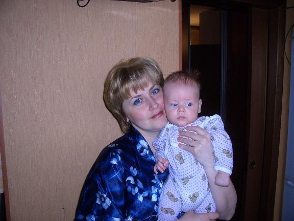 Я и мой Андрюшка!!!. Я и моя малышка