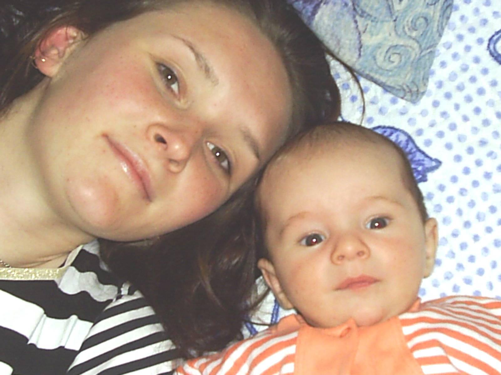 мама и Гордейка....вот. Я и моя малышка