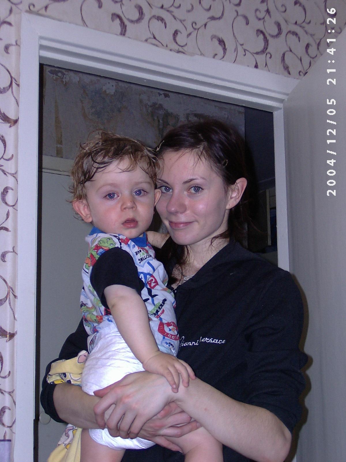 Никитулька и Мамулька. Я и моя малышка