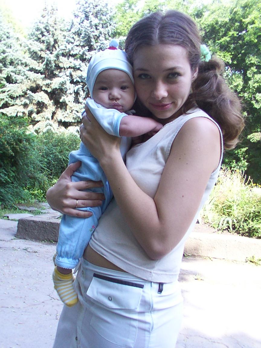 'Ребенок рождает родителей.'. Я и моя малышка