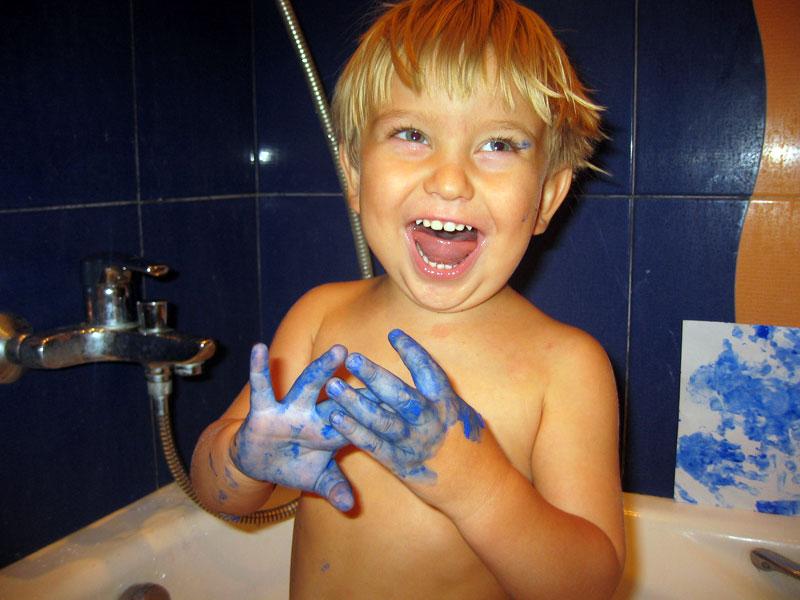 Синие ручки. Малыши-карандаши