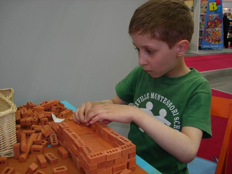 Юный строитель. Малыши-карандаши
