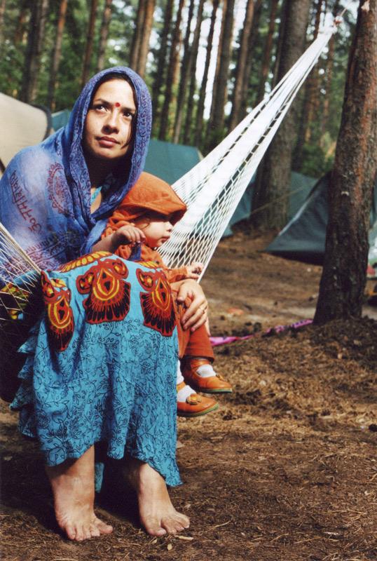 Индийские мотивы в лесу. Я и моя малышка