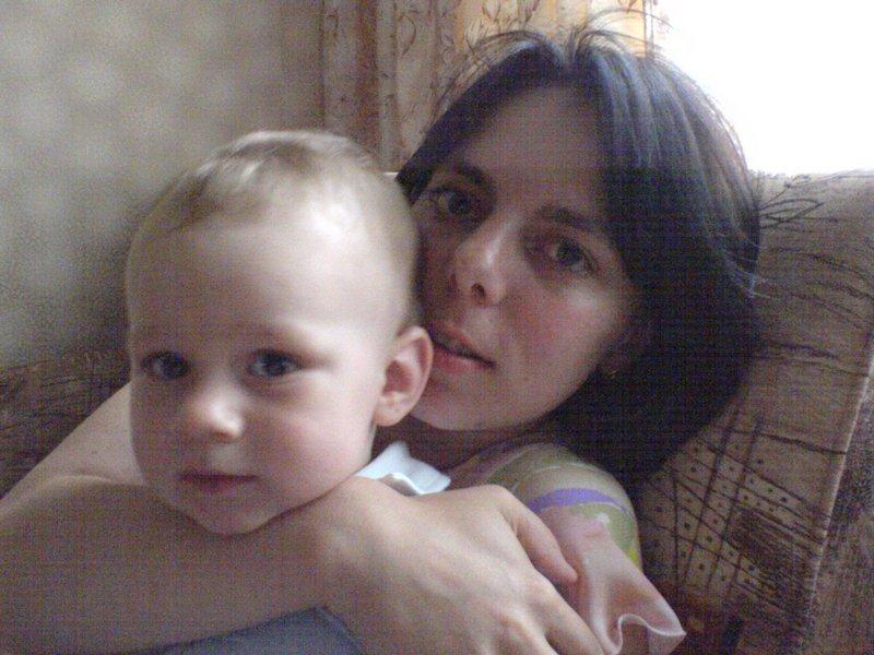 Я и моя Полинка. Я и моя малышка