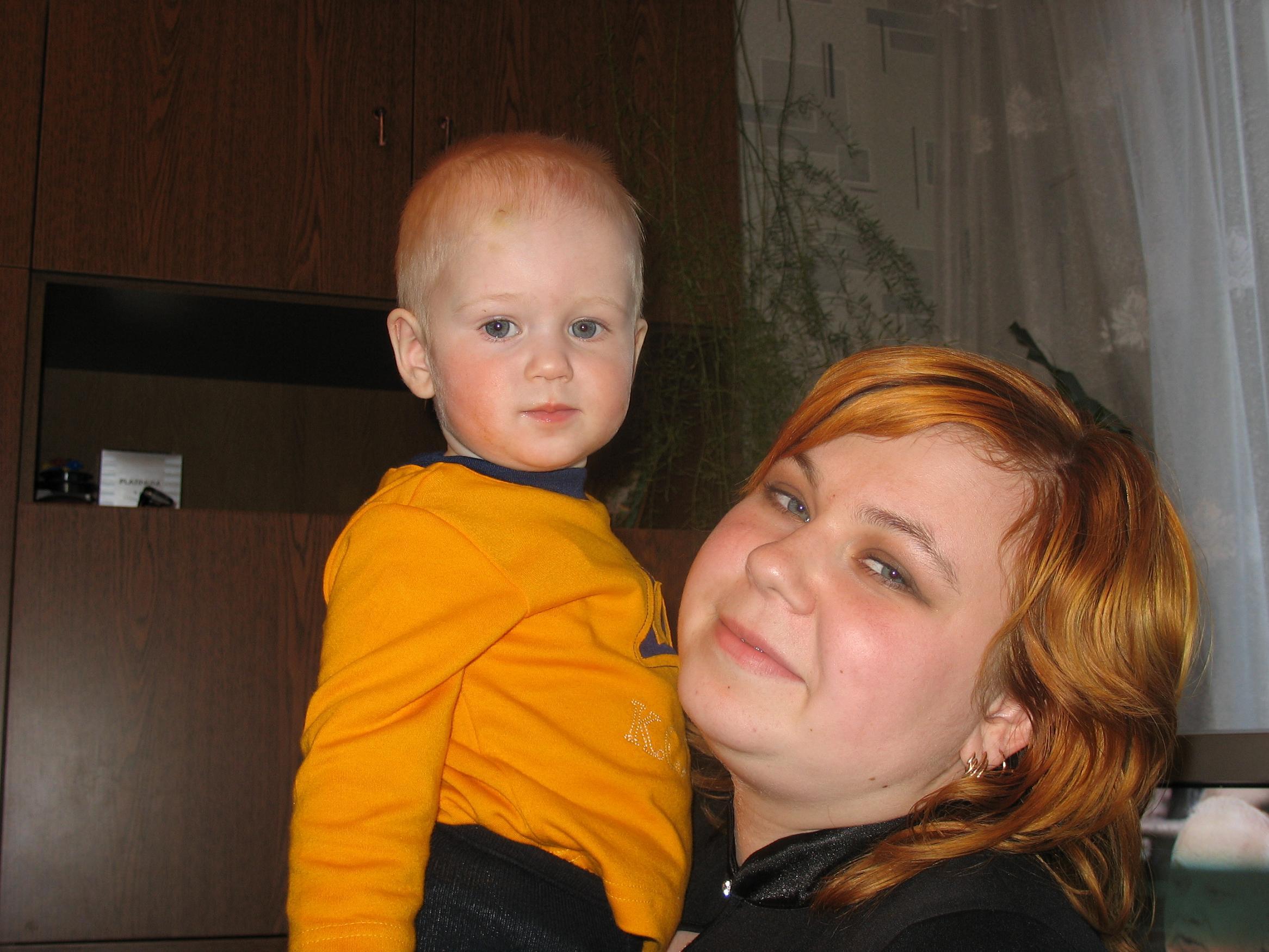 Сестра с сыном. Я и моя малышка