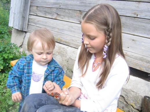 Юные натуралисты (лето-2006). Мы - веселые друзья