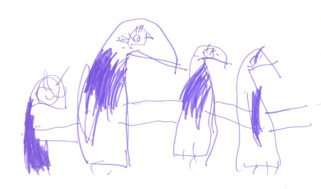 'Пингвины'. Конкурс детского рисунка с ВООБРАЖАЛКИНЫМ