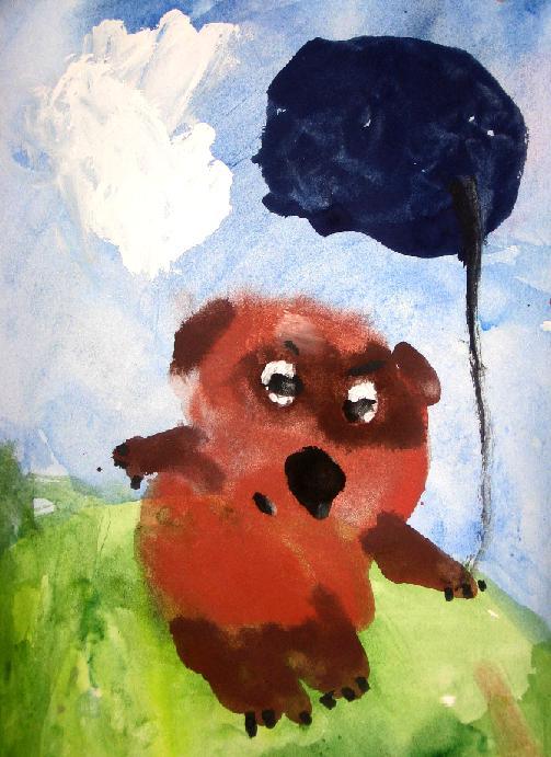 'Мой Пух'. Конкурс детского рисунка с ВООБРАЖАЛКИНЫМ