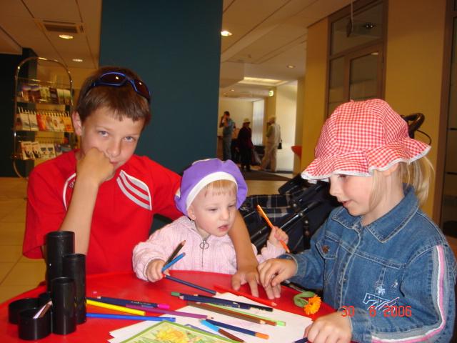 Юные художники. Малыши-карандаши