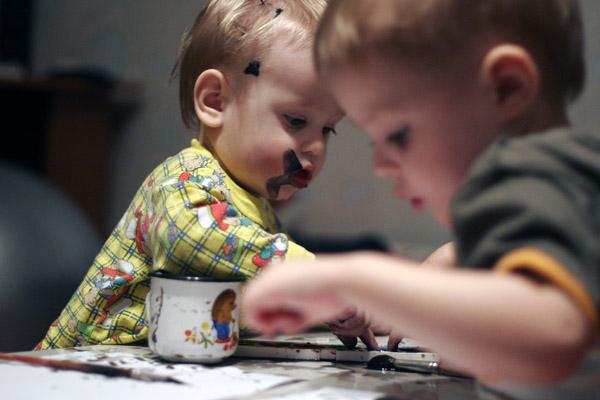 Шишкин и Васнецов в детстве. Малыши-карандаши