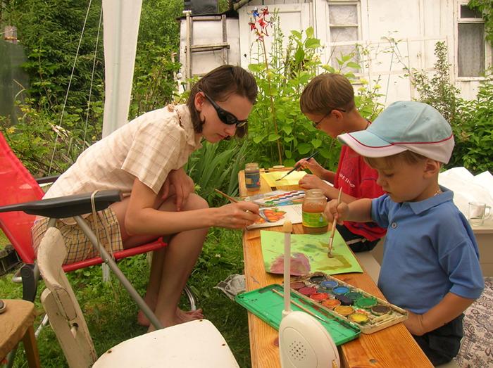 Кружок юных художников. Малыши-карандаши