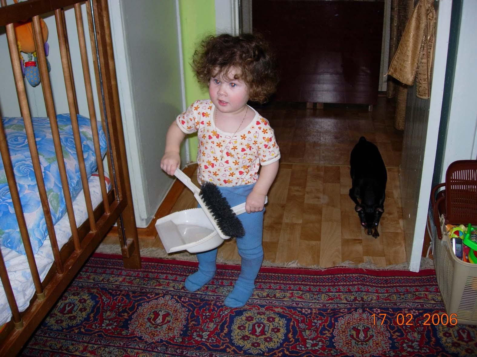 ребенки - они ч грязи расти не могут! ребенкам чистота нужна !!!. Я - Чистюля