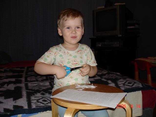 Чем бы дитя не тешилось.... Малыши-карандаши