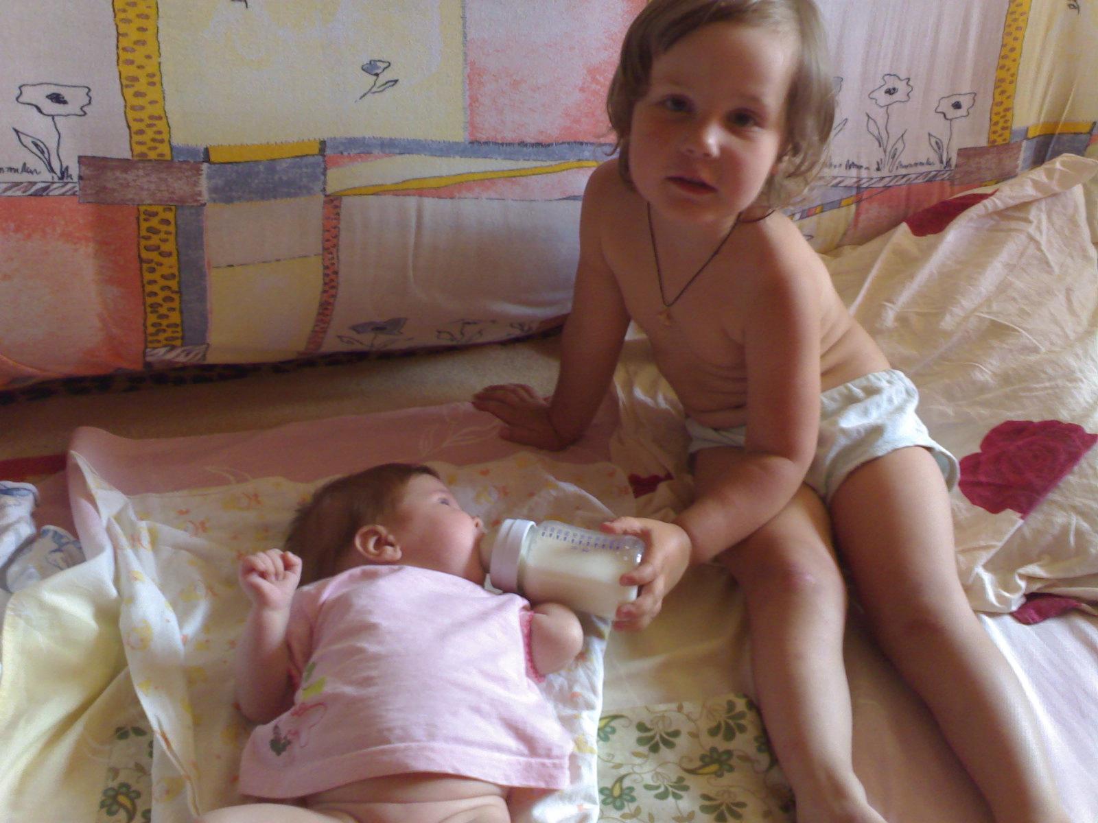 Тетя и племяшка. Мы - веселые друзья