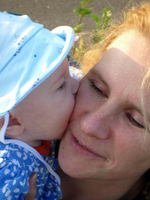 А я мамочку люблю!. Я и моя малышка