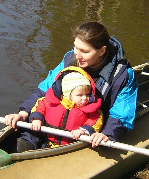 Вместе по реке Жизни. Я и моя малышка