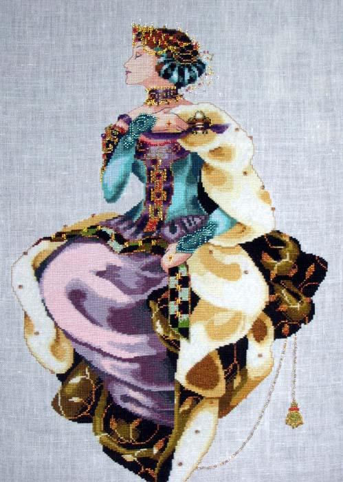 Королева Осени от Мирабилии. Рукодельный конкурс 'Женские образы в рукоделии'