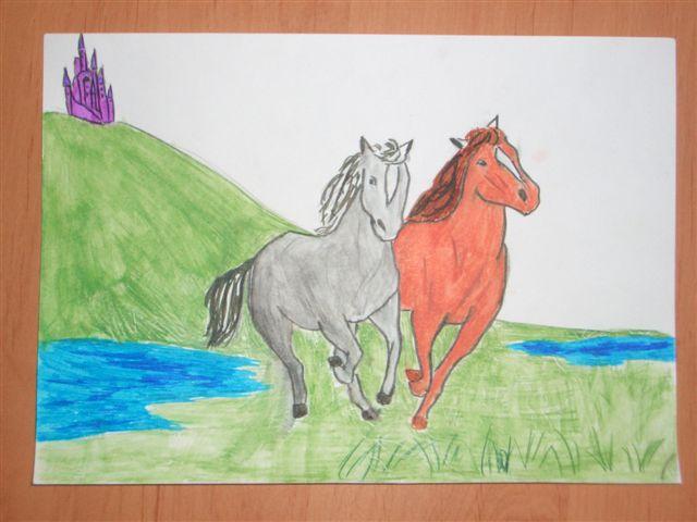 О таких лошадках я мечтаю!. Я и моя малышка