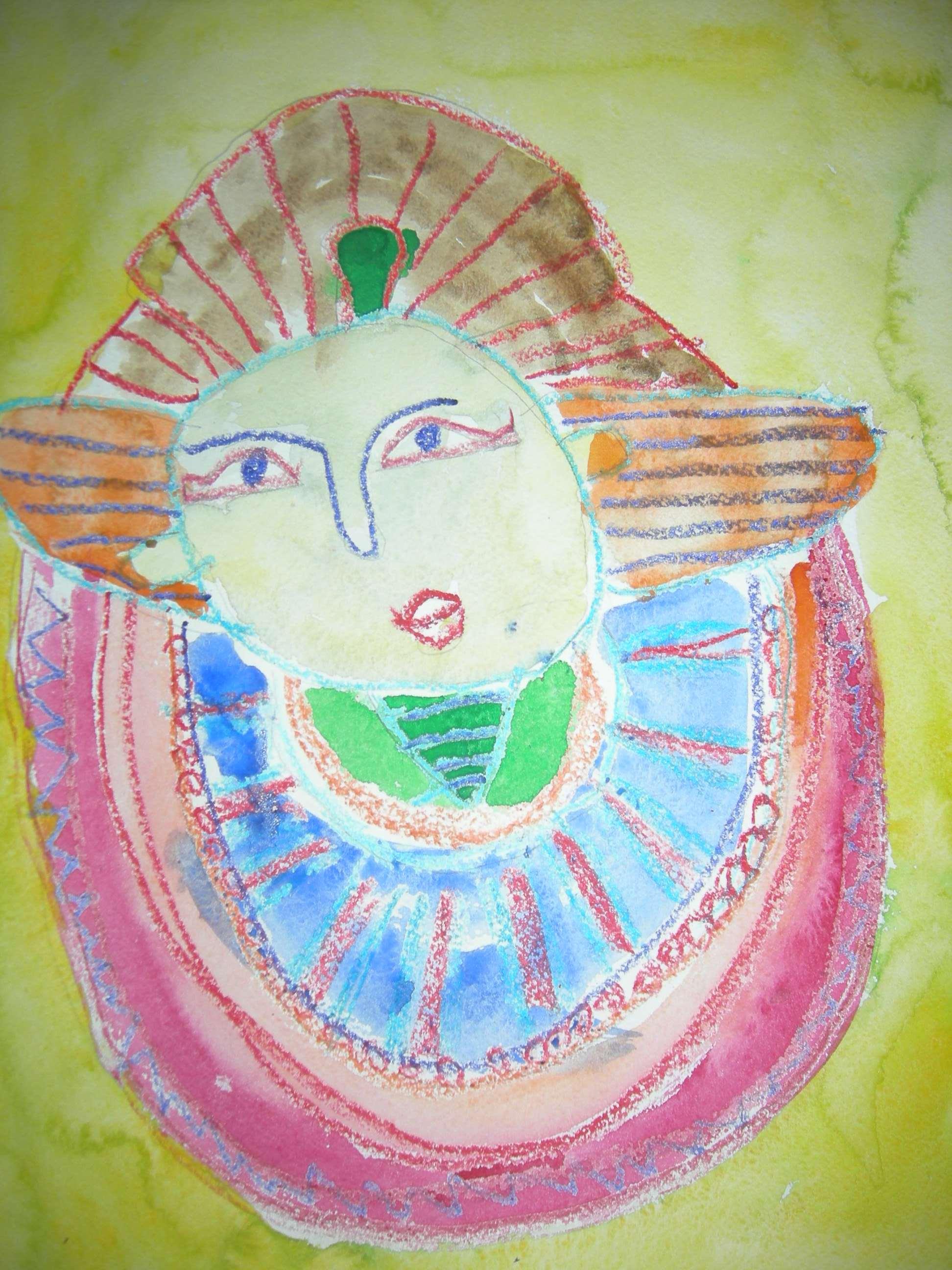 Царица Клеопатра!. Конкурс детского рисунка с ВООБРАЖАЛКИНЫМ
