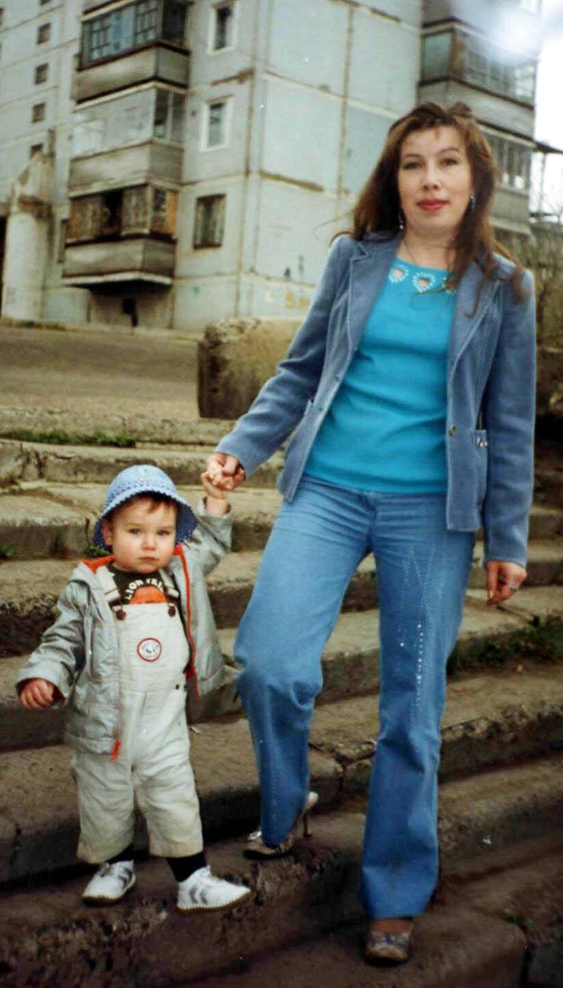 Я без мамы никуда, вместе ходим мы всегда. Я и моя малышка