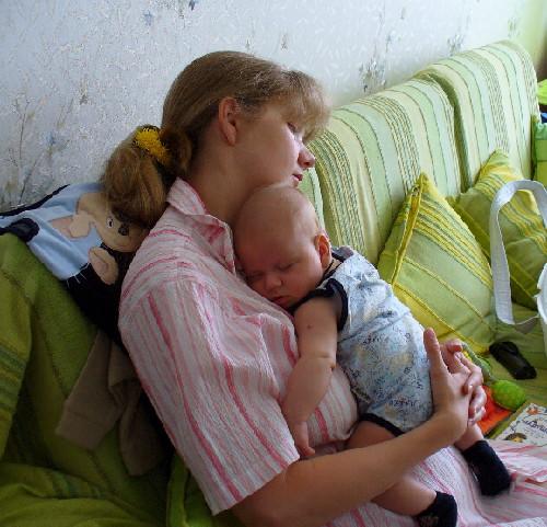 Один сон на двоих!!!. Я и моя малышка