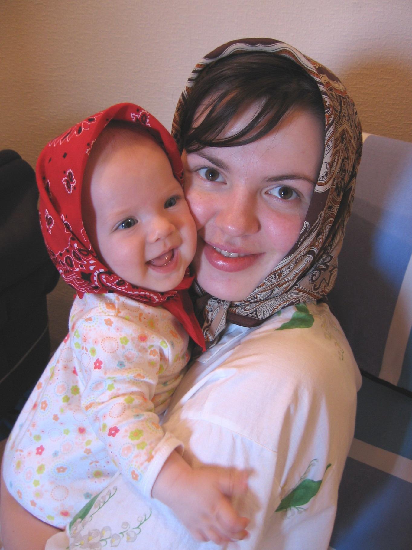 Я и моя Маруся. Я и моя малышка