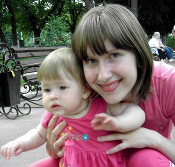 'Мама с дочкой одним цветом'. Я и моя малышка