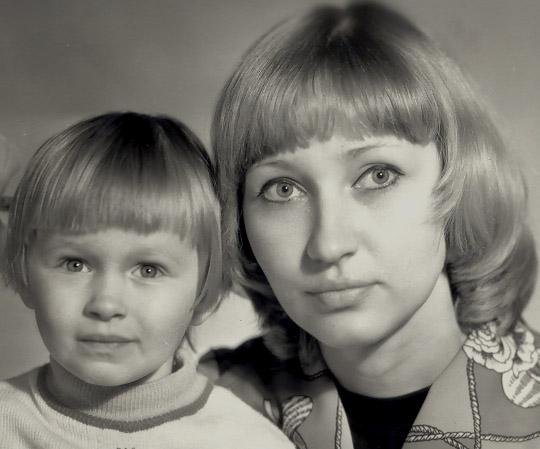 Мамочка с малышкой. Я и моя малышка