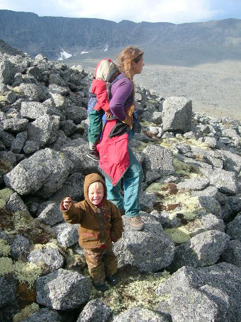 Лучше гор могут быть только горы.... Спортивная семья