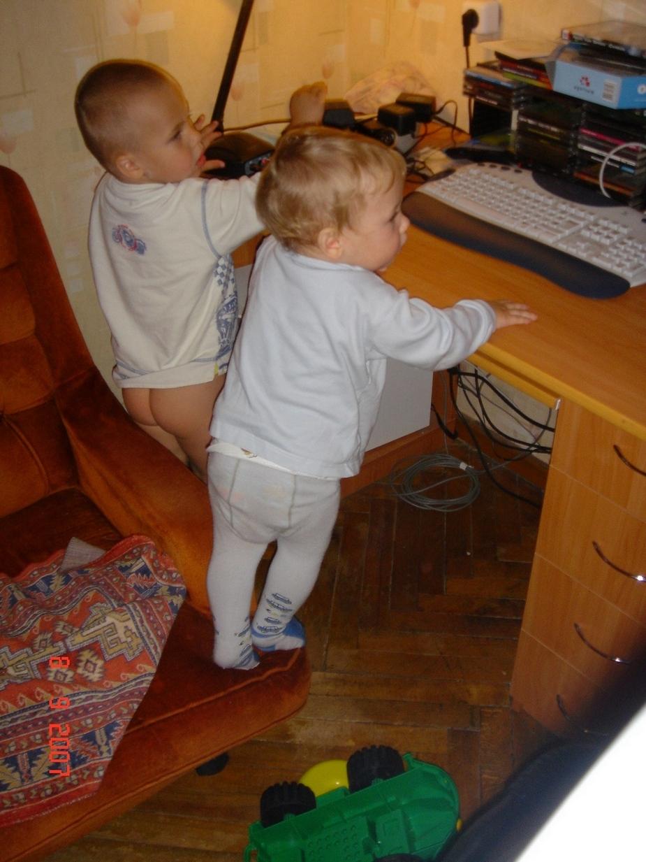 Мы - программисты!!!!. Дети и техника