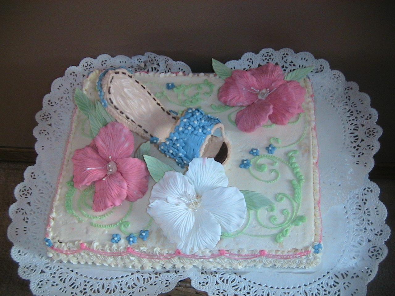 туфелька. Кулинария: торты и пирожные