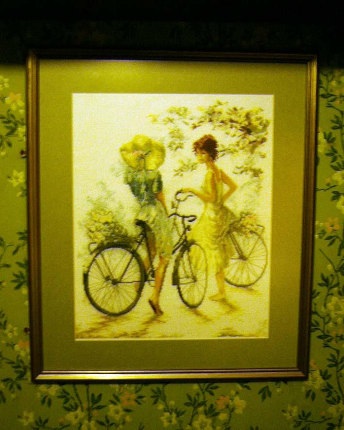 Велосипедистки. Изображения людей