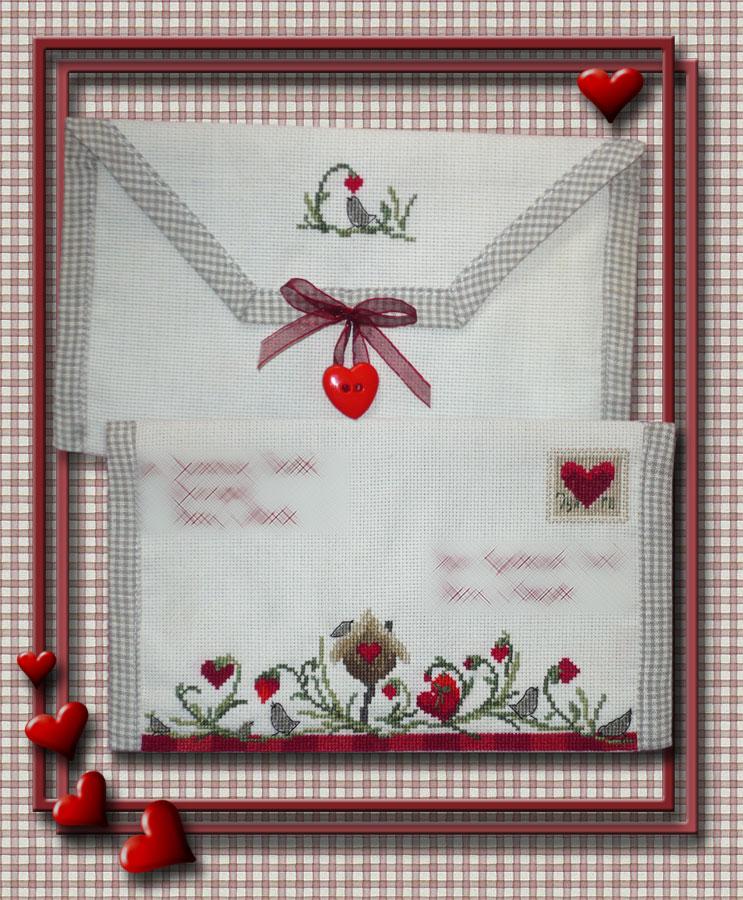 9 - автор Валькирия для kura. 2007 Письмецо в конверте