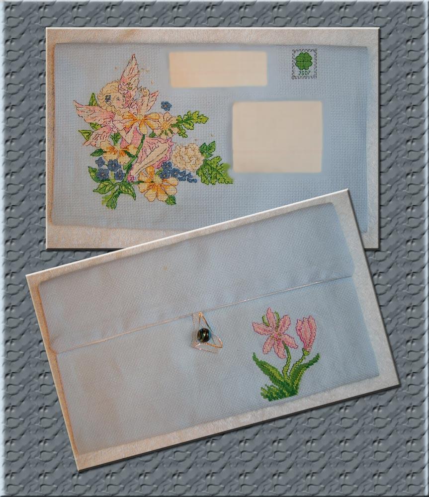 10 - автор мама Оля для Nastya_Pin. 2007 Письмецо в конверте
