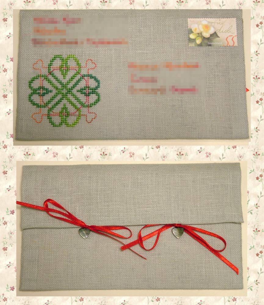 22 - автор Медуница для Ксеньки (psoksa). 2007 Письмецо в конверте