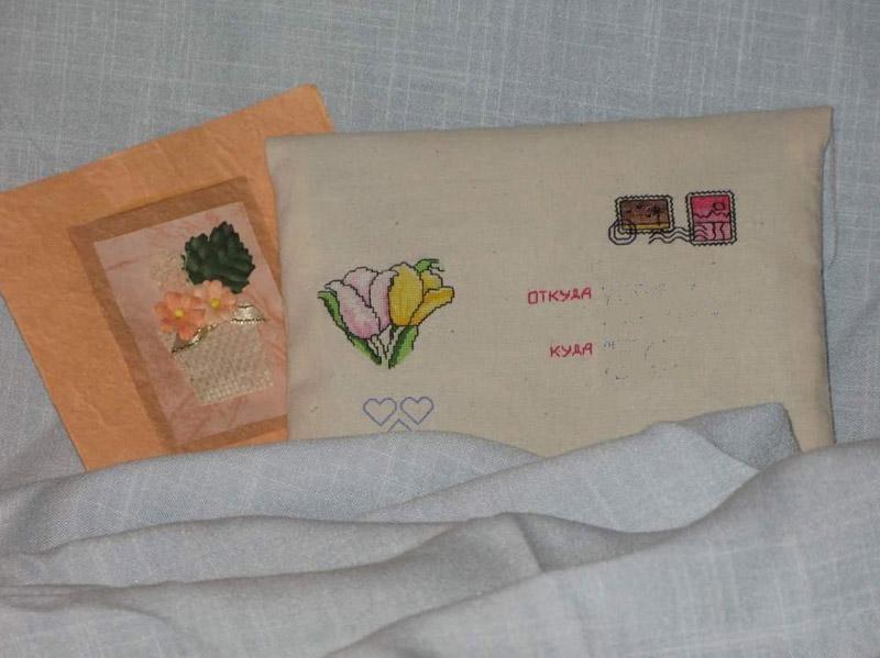 24 - автор chertenok13* для ~Голубки~. 2007 Письмецо в конверте