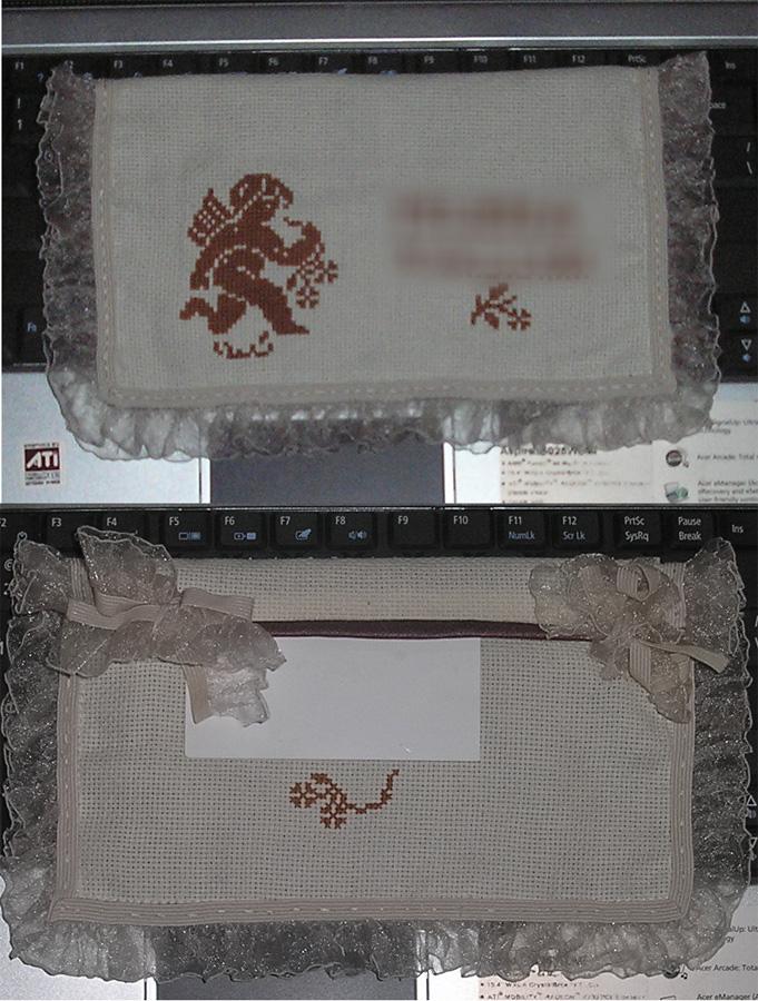 36 - автор Ксенька (psoksa) для MLena. 2007 Письмецо в конверте
