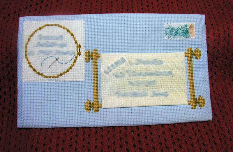 39 - автор МамАнька для Lapka8. 2007 Письмецо в конверте