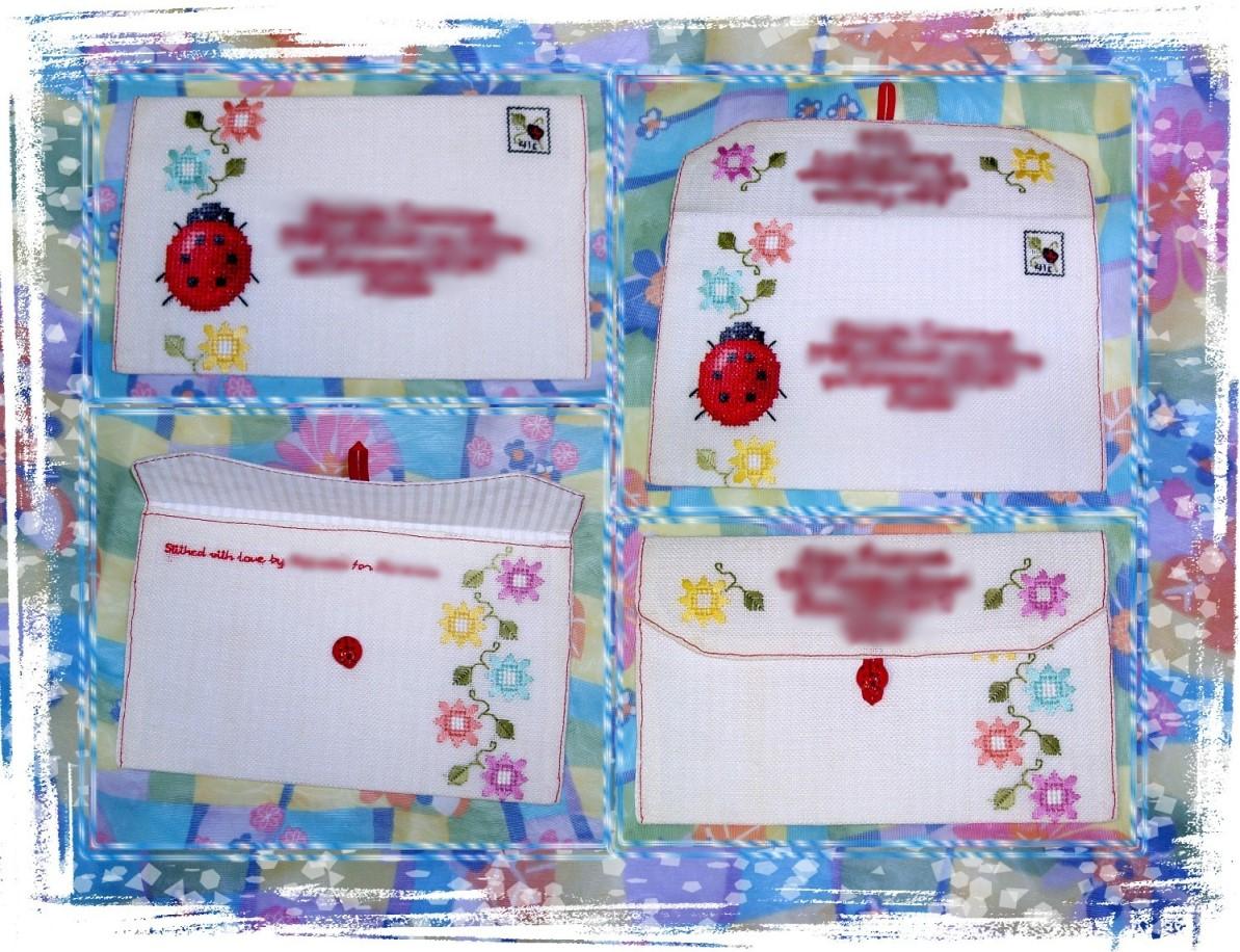 44 - автор Shpinelka для Катеньки. 2007 Письмецо в конверте
