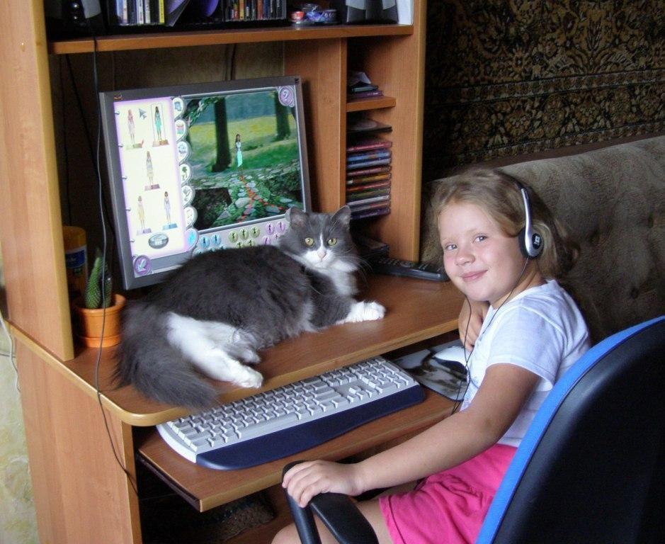 Школа юных хакеров. Ребята и котята