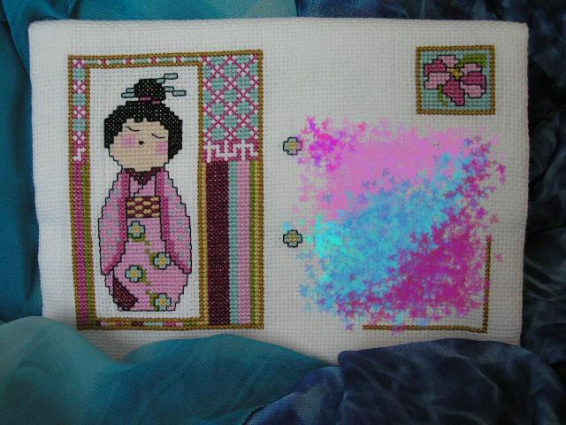 60  - автор Серендипити для NataN (Дитя Востока). 2007 Письмецо в конверте