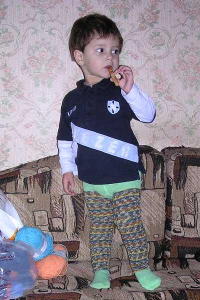 Гетры для малыша. . Одежда для детей