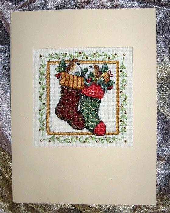 58 - автор М.Муркина - для lovebiser. Новогодние подарки получены