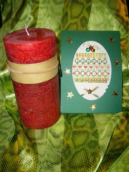 74 - автор MLena - для Pearl. Новогодние подарки получены