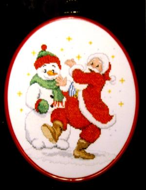 Ded Moroz i Snegovik. Рождественские и новогодние мотивы