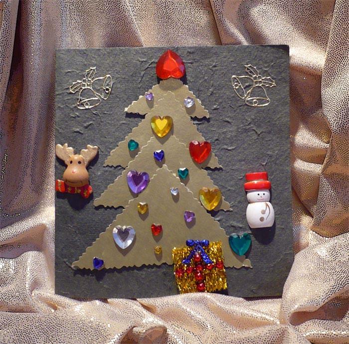 2 - Аня (Понечка) - для Кати  (Серендипити) . Новогодний детский проект-2007