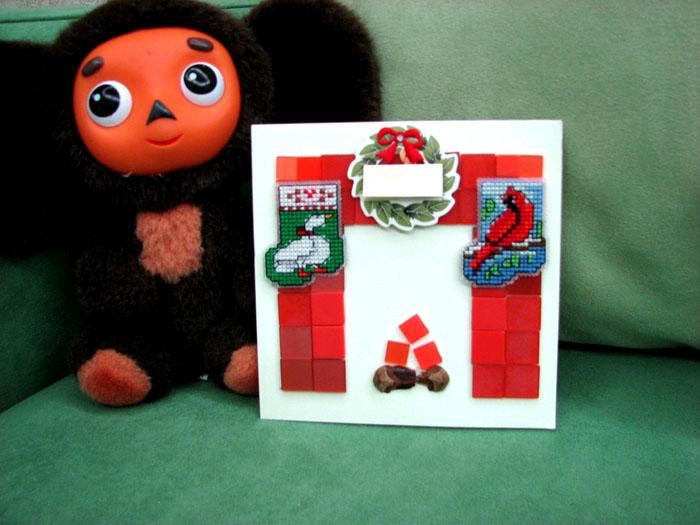 13 - Даша (Лёнка и Донька)) - для Жени (Olechka). Новогодний детский проект-2007